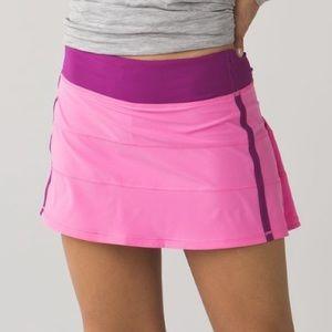 Lululemon Pace Rival II Skirt Size 10